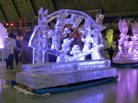 17th Ice Sculpture Exhibition in M-Wave